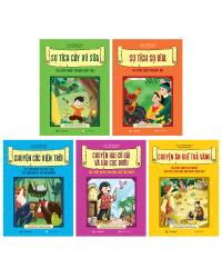 Bộ truyện cổ Việt Nam song ngữ Việt – Anh (gồm 5 cuốn)
